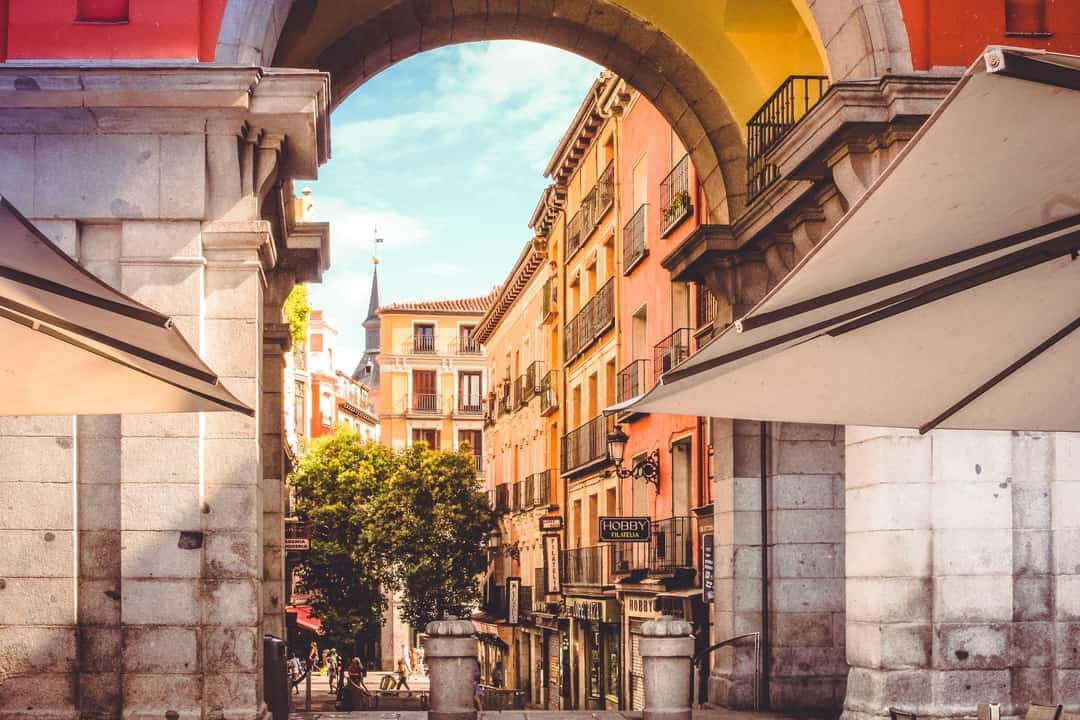 Old beautiful architecture in Spain