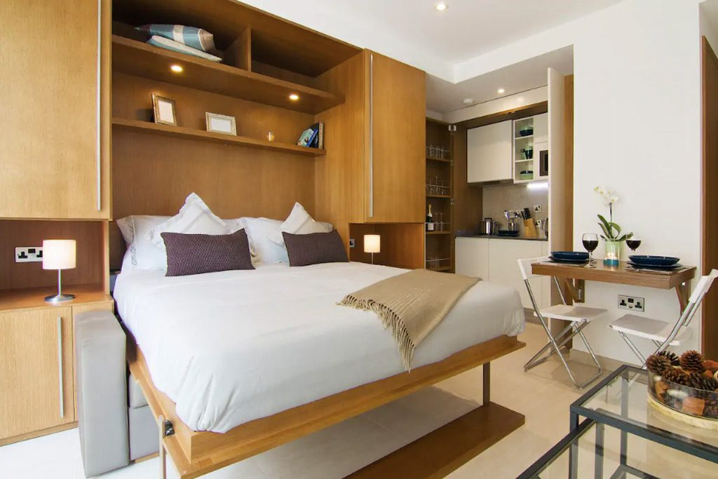 City apartment on Airbnb in Gibraltar