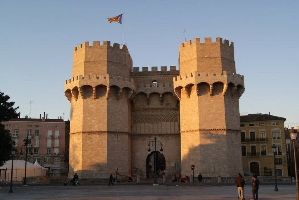 Towers in Valencia