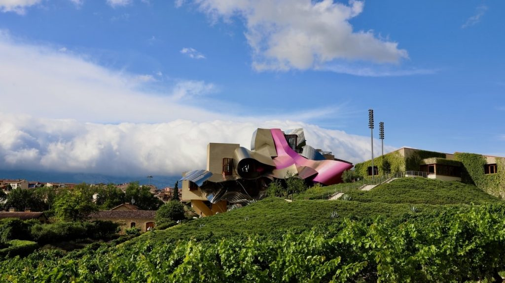 Marques de Riscal's winery, hotel and restaurant