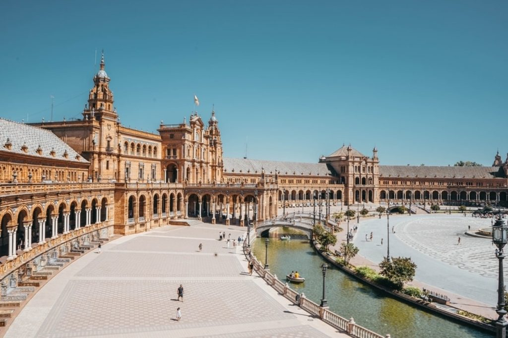 Sightseeing in Seville